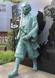 伊能忠敬の銅像3