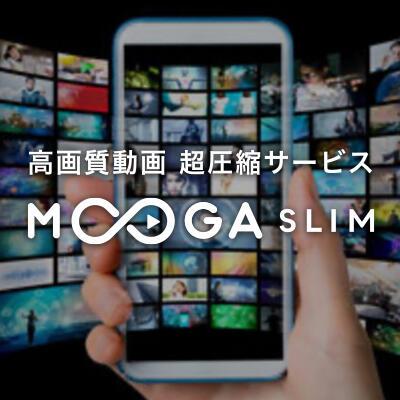 4K・FHD(フルHD)・VR対応 /高画質 動画圧縮サービス【MOOGA SLIM】